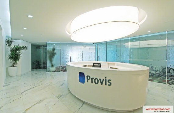 Receptions - Stretch Ceiling's and Stretch Walls for Reception Areas - Roshal Barrisol