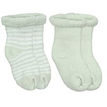 Terry Newborn Socks - Assorted - Yellow, Sage & White - $4.99 @ Babies r us