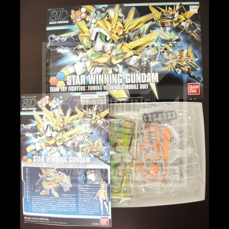 [MODEL-KIT] NON-SCALE SDBF - STAR WINNING GUNDAM. Item Size/Weight : 30 x 19 x 5.7 cm / 245g. (*ITEM SIZE & WEIGHT BEFORE PACKAGED). Condition: MINT / NEW & SEALED RUNNER. Made by BANDAI.