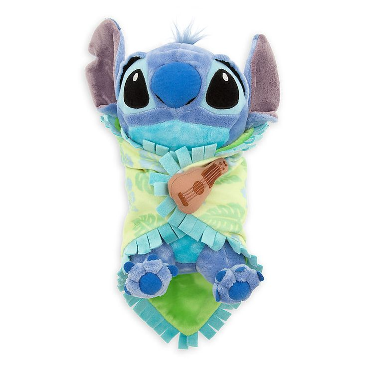 Disney's Babies Stitch Plush with Blanket - Small - 10'' | Plush | Disney Store