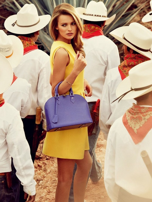 Edita Vilkeviciute | Louis Vuitton Travel Fall 2012