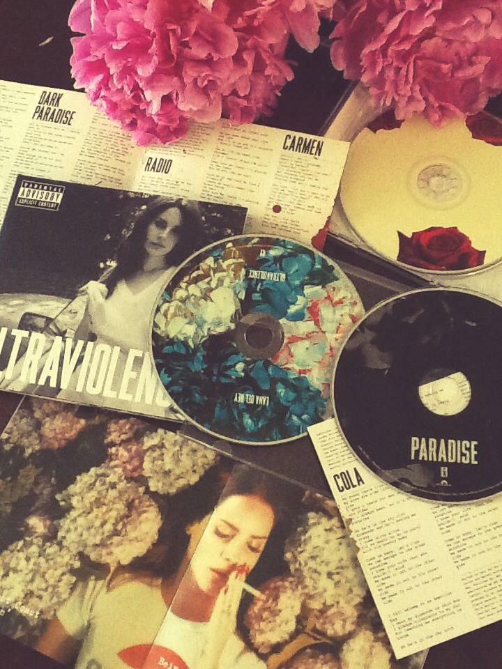 Happiness :) my Lana CDs