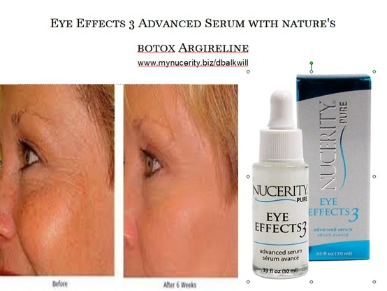 3-in-1 Advanced Serum: - Diminishes and prevents the appearance   of fine lines and wrinkles - Decreases puffiness and under eye bags - Reduces the appearance of dark circles
