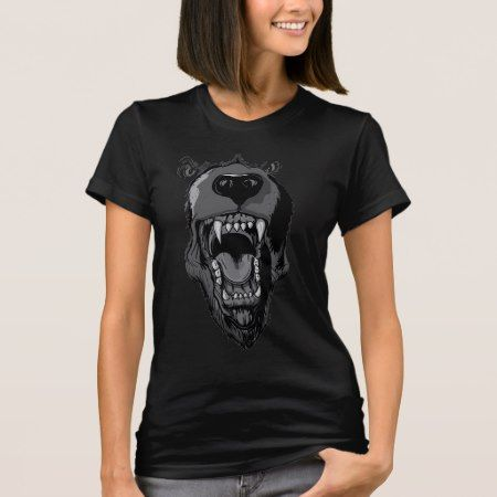 Dog ~ Wolf Werewolf Monster Black T-Shirt - tap, personalize, buy right now!