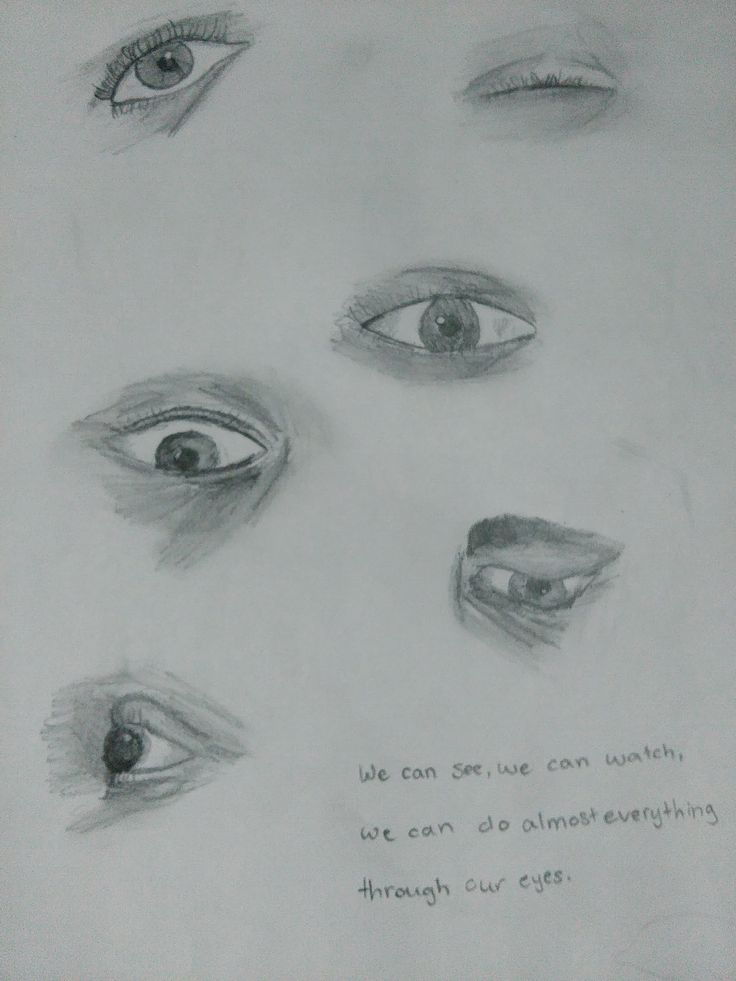 30 day drawing challenge | an eye