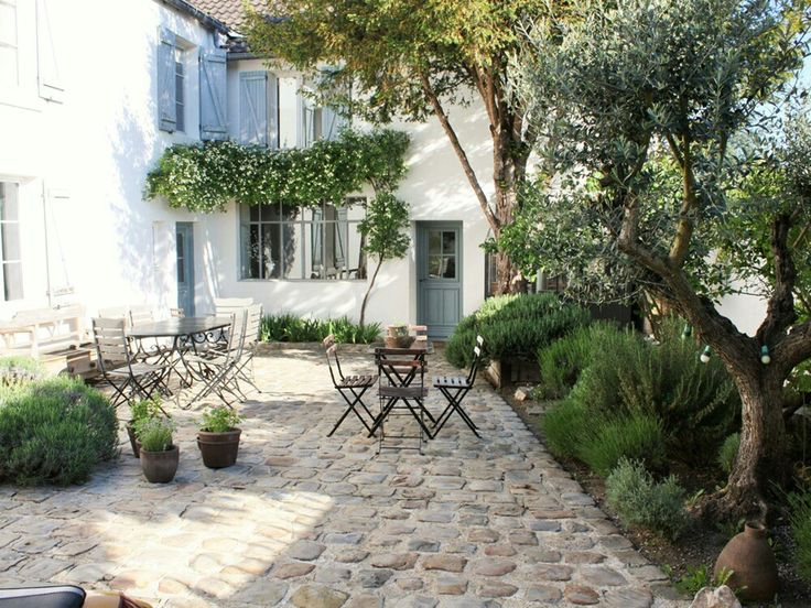 Une terrasse à l'allure provençale