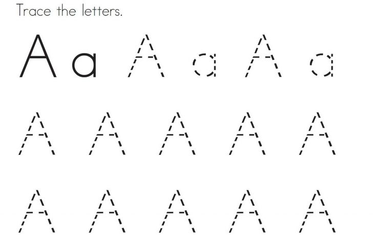 Coloring, Fonts And Letter Tracing On Pinterest