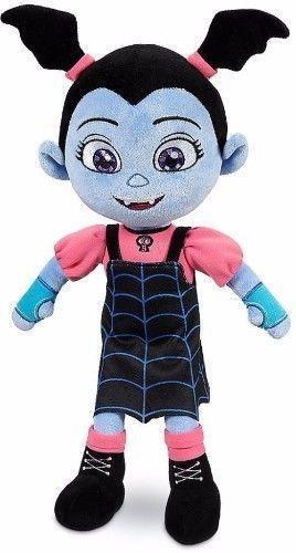 Vampire Plush Doll Vampirina Toy Girls Batwing Ponytails