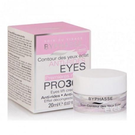 Crema PRO30 Contorno de ojos antiarrugas BYPHASSE 20ml.