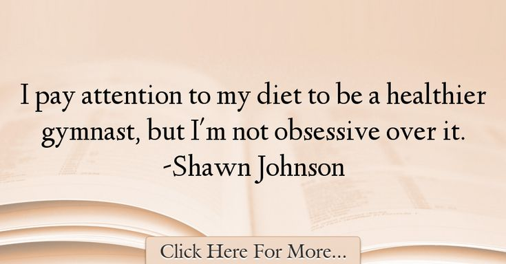 Shawn Johnson Quotes About Diet - 14835