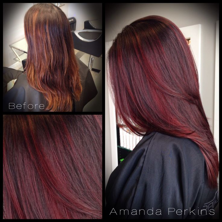 Refreshed This Beauty S Quot Chocolate Cherry Quot Custom Color