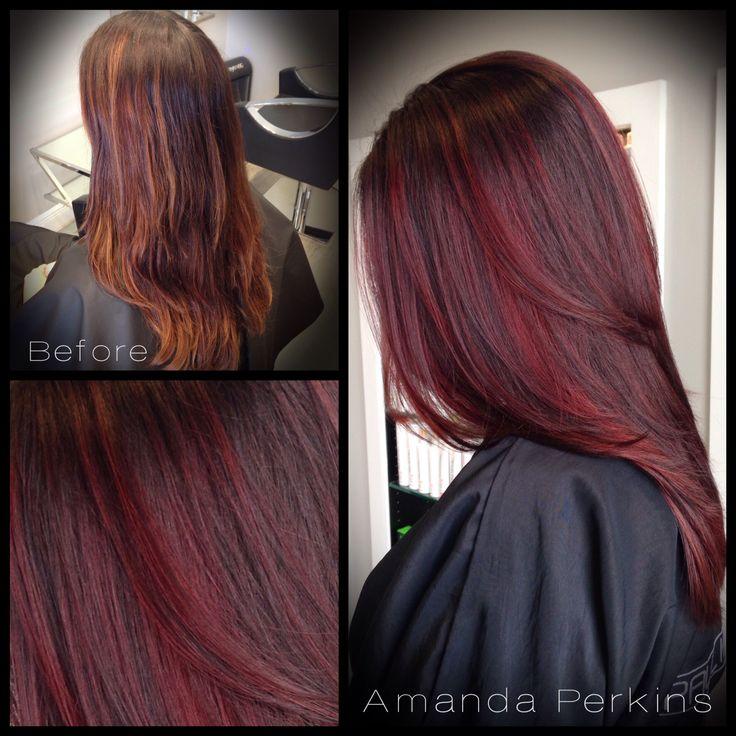 Best 25+ Chocolate cherry hair ideas on Pinterest | Dark ...