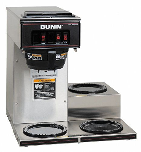 Special Offers - BUNN 13300.0003 VP17-3SS3L Pourover Commercial Coffee Brewer with Three Lower Warmers Stainless Steel - In stock & Free Shipping. You can save more money! Check It (May 22 2016 at 07:58AM) >> http://coffeemachineusa.net/bunn-13300-0003-vp17-3ss3l-pourover-commercial-coffee-brewer-with-three-lower-warmers-stainless-steel/