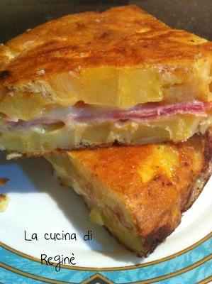 #La frittata di patate# La cucina di Reginé