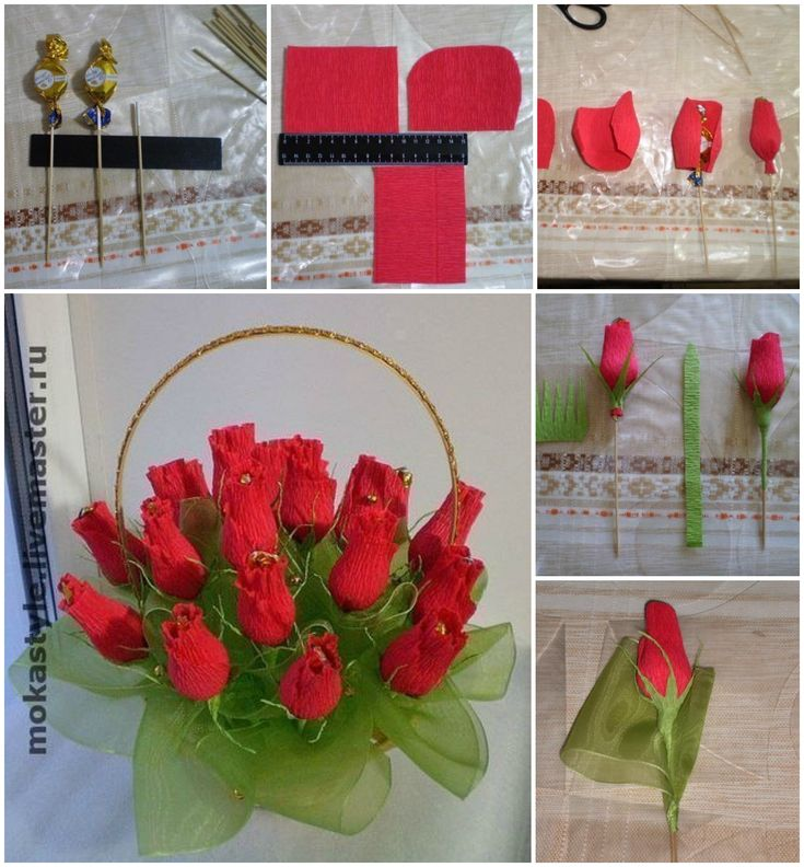Chocolate Flower Bouquet - DIY