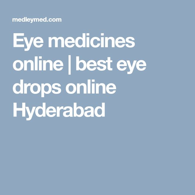 Eye medicines online | best eye drops online Hyderabad