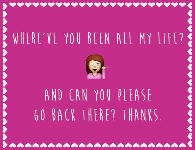 12 Hilarious Anti-Valentine's Day Cards For People You Hate.. Oh gosh I love these XD