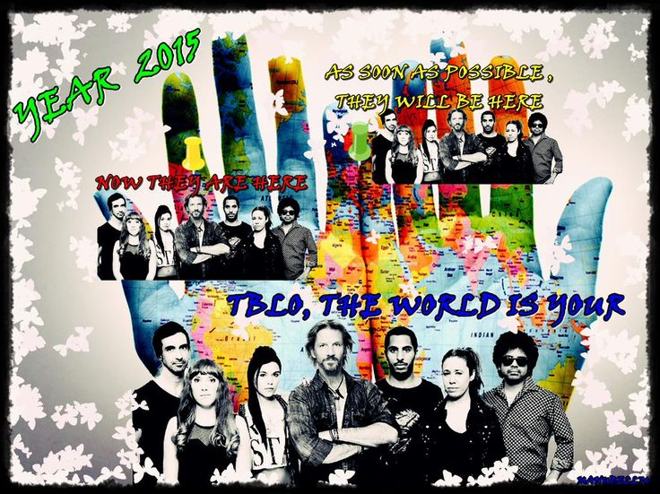 @Facundo_Arana @IzzyGainza  2night, We could not see @TBLOficial  but 2015 ,is the Year that will bring TBLO from US!
