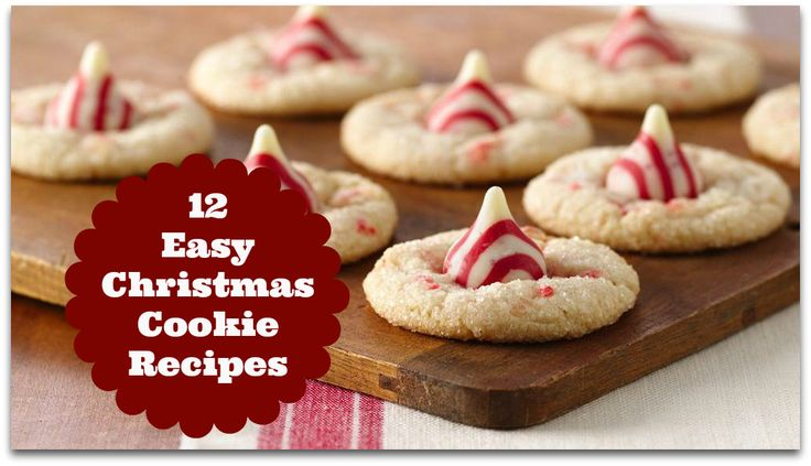 12 Easy Christmas Cookie Recipes | Free Cookbook Download on http ...