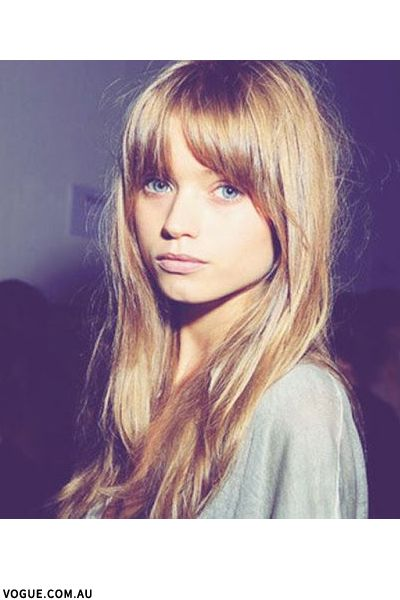 The Grown-Out Fringe
