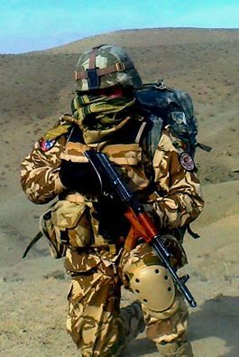 Jackal Team operator - Romanian Army