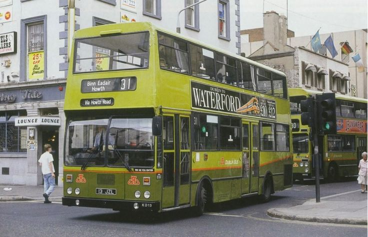 Image result for classic dublin buses