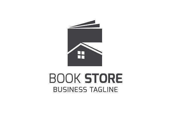 Book Store Logo Template - Logos