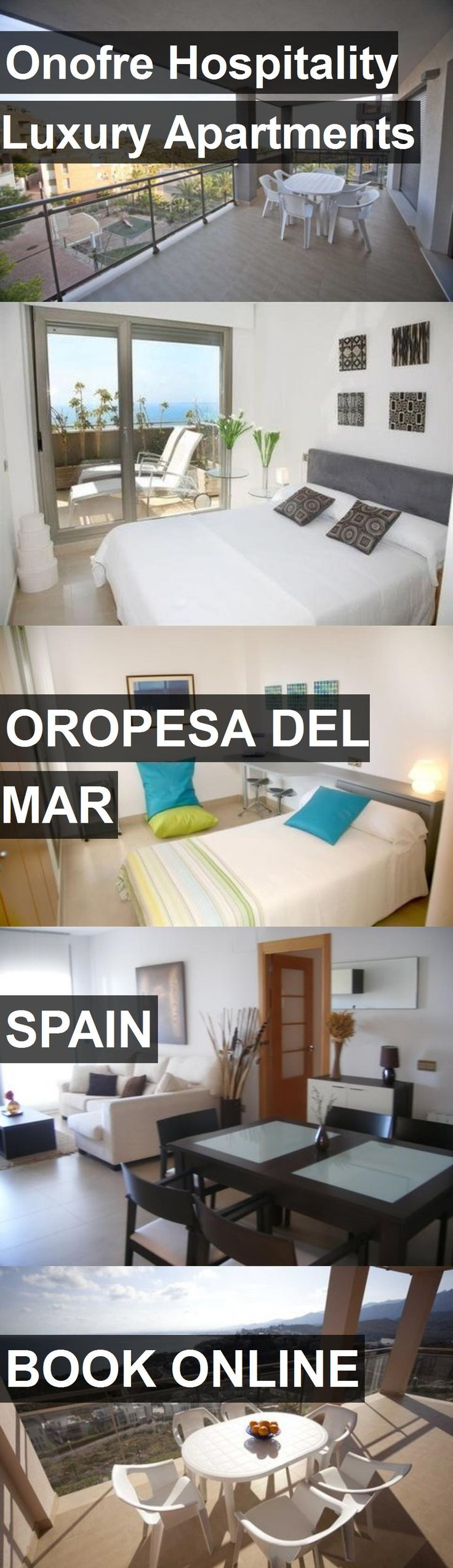 Onofre Hospitality Luxury Apartments in Oropesa del Mar, Spain. For more information, photos, reviews and best prices please follow the link. #Spain #OropesadelMar #travel #vacation #apartment