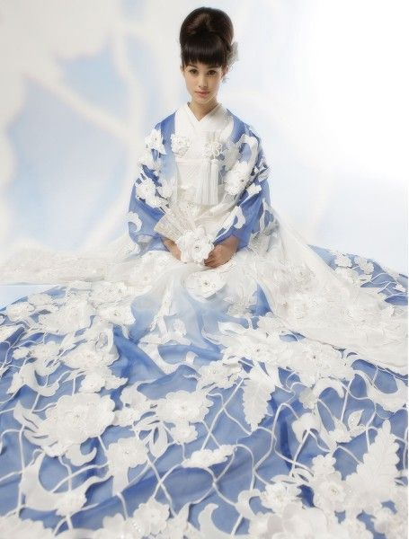 [色打掛] 4802 | YUMI KATSURA OFFICIAL WEBSITE|ユミカツラ公式サイト|ブライダル ウエディングドレス