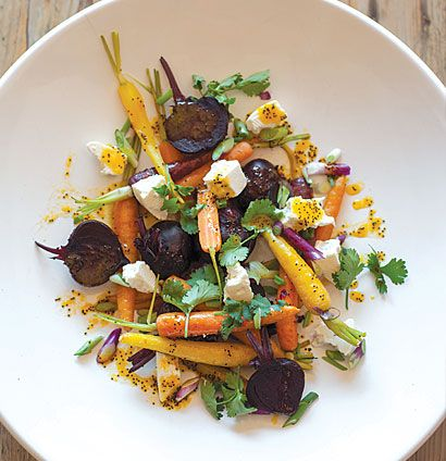 Baby beetroot and carrot salad with ClemenGold-and-poppy seed dressing | Woolworths TASTE