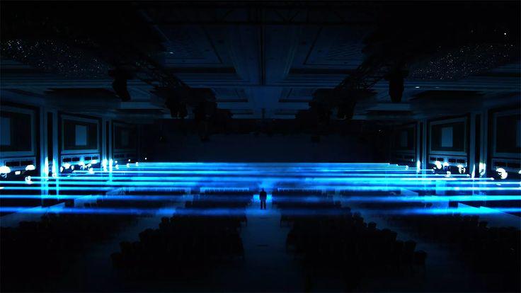 CYGNUS Immersive Light Installation Performance/MARKA 2014 International Brand Conference on Vimeo