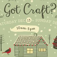 2014 Got Craft?Holiday Market Returns on December 13 and 14 to East Vancouver | #Vancouverscape