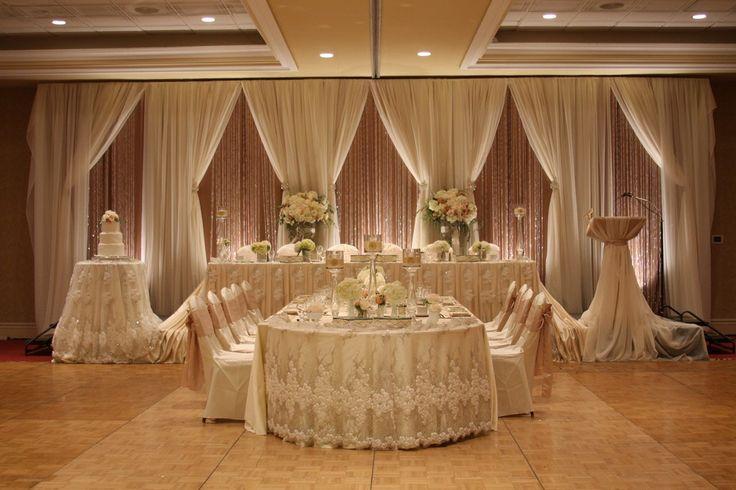17 Best Ideas About Head Table Backdrop On Pinterest: 139 Best WEDDING HEAD TABLE/BACKDROPS Images On Pinterest
