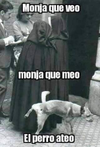 El perro ateo :v