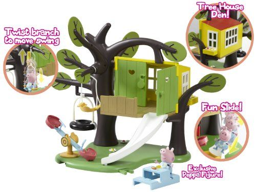 PEPPA PIG TREEHOUSE PLAYSET...