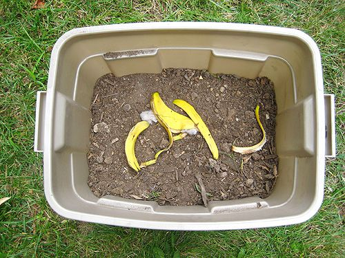 DIY compost - will be trying this out since we don't have trash pickup