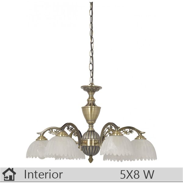 Candelabru iluminat decorativ interior Klausen, gama India, model nr6