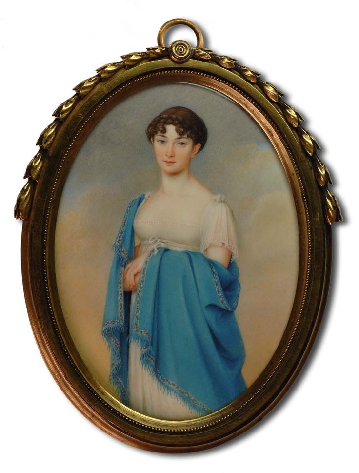 A Private Portrait Miniature Collection: 19th Century Miniatures 1806-1820