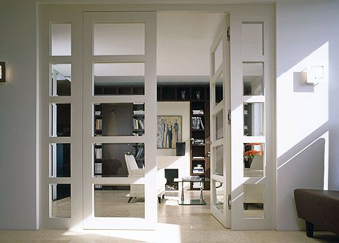 modern white manufactured home interior doors. Flush room divider with glass insert  modern interior doors miami Bartels Exclusive Designer Doors 7 best Stylish Design for Mobile Home Interior images on