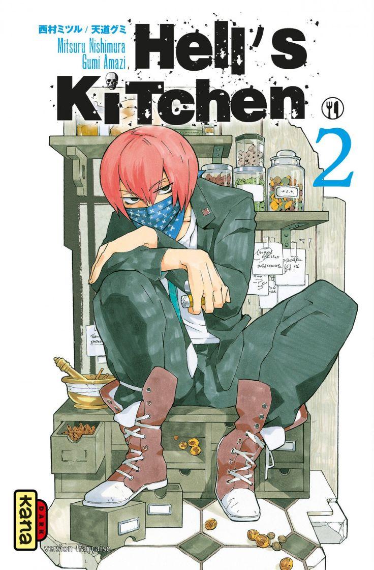 Pin by fatima on Hell\'s Kitchen manga   Pinterest   Manga