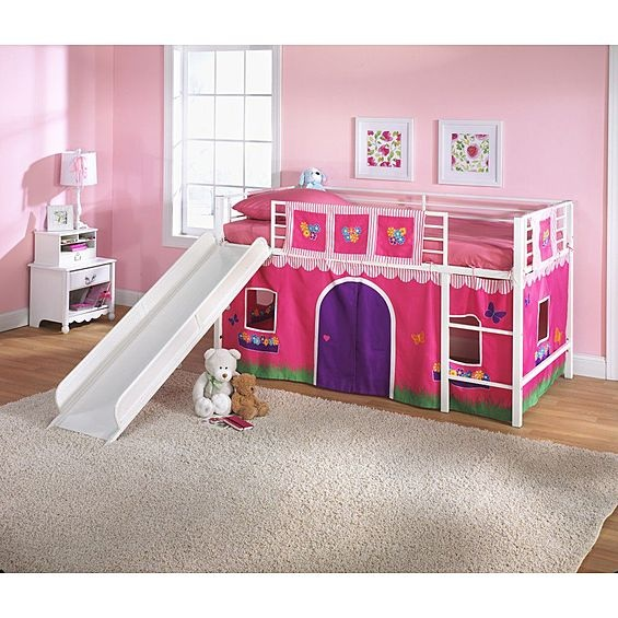 essential home slumber n slide loft bed with slide manual 2