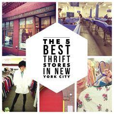 The 5 Best Thrift Stores in New York - Antique Boutique 712-714 Broadway (with Samantha age 12) and 227 E. 59th Street
