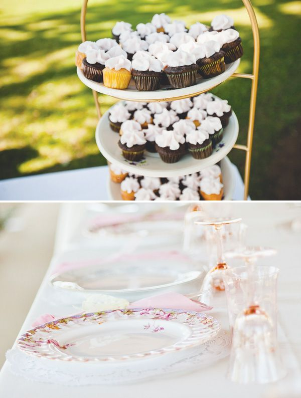 {Budget Friendly} Vintage Outdoor Wedding // Hostess with the Mostess®