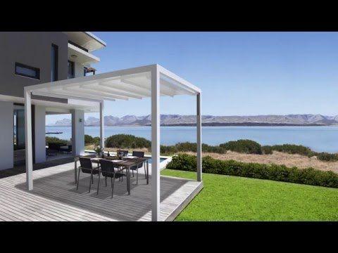 Sonnenschutz Und Regenschutz   Die Pergola Sunrain Q Kombiniert Markise Und  Terrassendach In Einem Und Passt