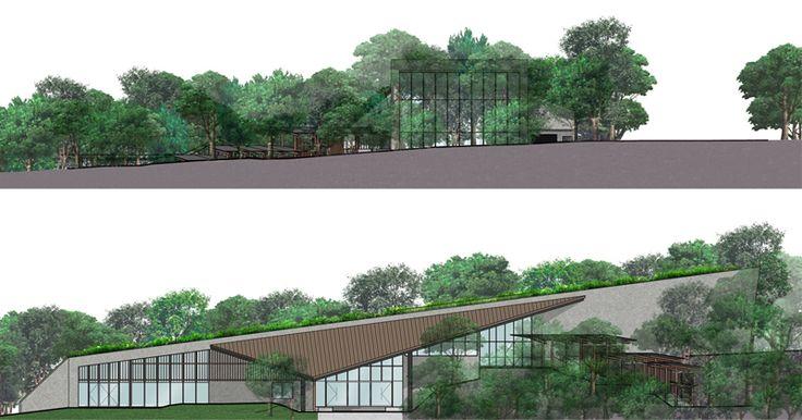 HB Architecture, Waitangi Museum & Education Centre, Waitangi Treaty Grounds, Northland, New Zealand