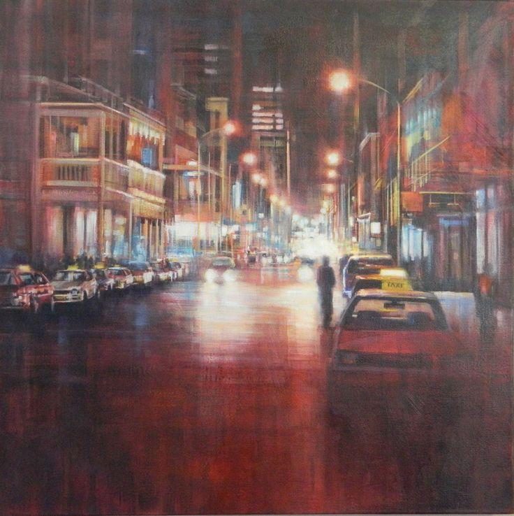 Cape Town cityscape - 'Long Street' by Karen Wykerd