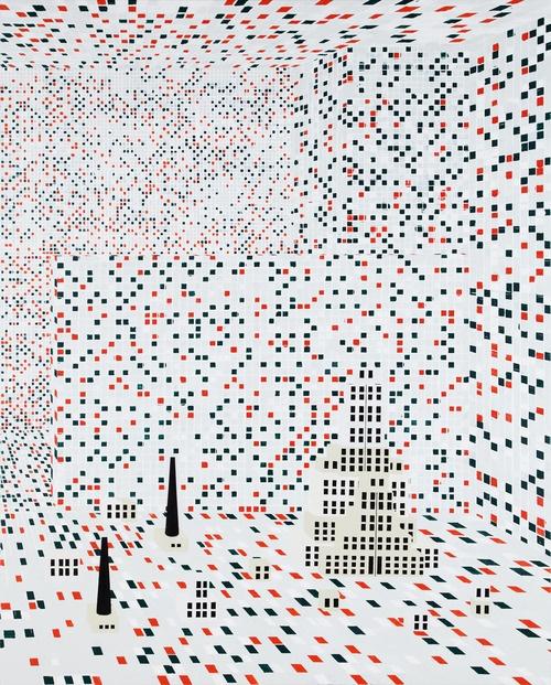 Farah Atassi © DR - «Exposition prix Marcel Duchamp», du25mai au 15septembre, musée des beaux-arts, Libourne, www.adiaf.com - Histoire de collection - Marcel !, par Gilles-Christian Rétoré - JP#02
