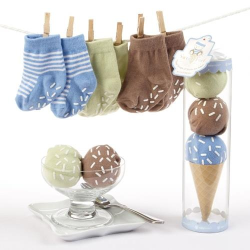 (CLICK IMAGE TWICE FOR DETAILS AND PRICING) Baby Aspen andquotSweet Feetandquot Three Scoops of Socks Gift Set (Blue). Each scoop of the triple-scoop andquotice cream coneandquot is a pair of socks in blueberry, chocolate and lime, White andquotsprinklesandquot on socks are actually rubber traction. See More Gifts at a href=http://www.ourgreatshop.com/Gifts-C196.aspx  target=_blank rel=nofollowhttp://www.ourgreatshop.com/Gifts-C196.aspx/a