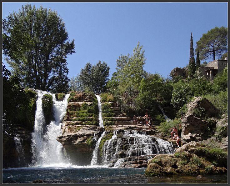 The falls, Saint-maurice-Navacelles - Saint-Maurice-Navacelles, Languedoc-Roussillon