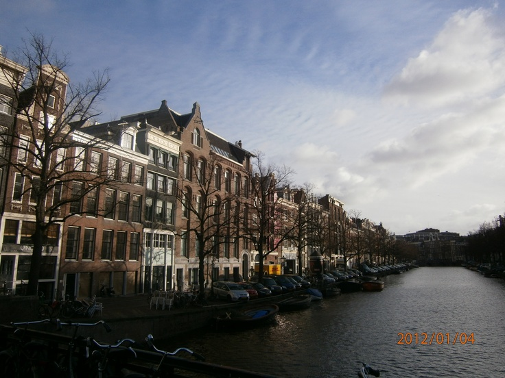 Amsterdam, The Netherlands - my Mother-In-Law's birthplace. From here she went to England, as a young girl, and then finally to New York, USA.